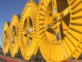 Oyu Tolgoi underground mine's electrical cable supply
