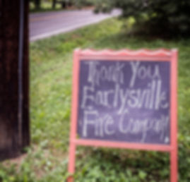 Thank You, Earlysville Fire
