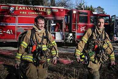 Firefighter, Earlysville Fire