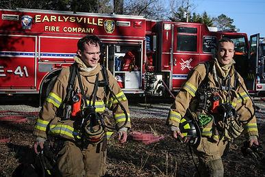 Firefighter, Earlysville Fire