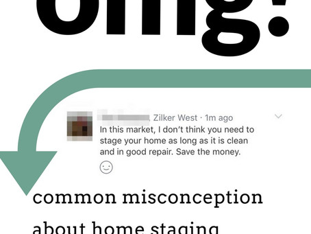 The Home Staging Misconception