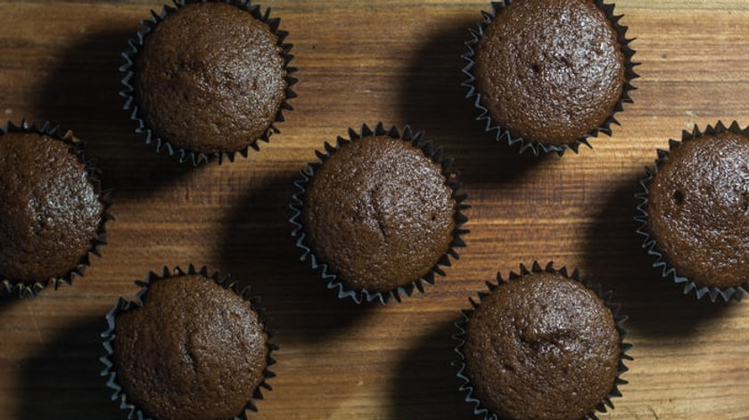 Chocolate Cupcake- Plain
