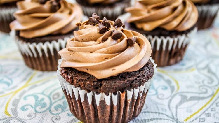Chocolate Cupcake -Iced