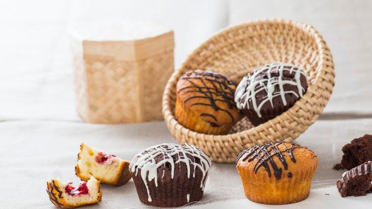 Glazed Cupcakes