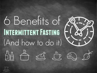 6 Benefits of Intermittent Fasting