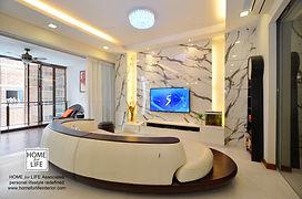 TV feature marble look.JPG
