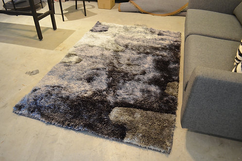 Shaggy Rug (Running Tone Grey )