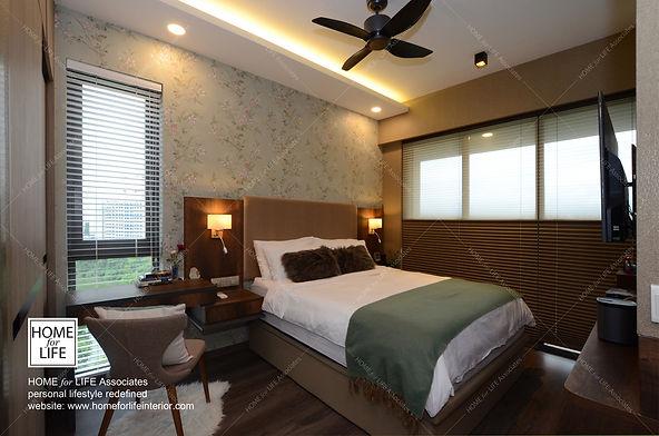 #Master Bedroom#Headboard Design#Side Ta
