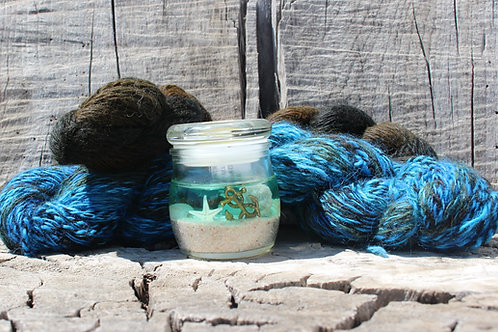 Deep Dark Ocean Collection Yarn Set