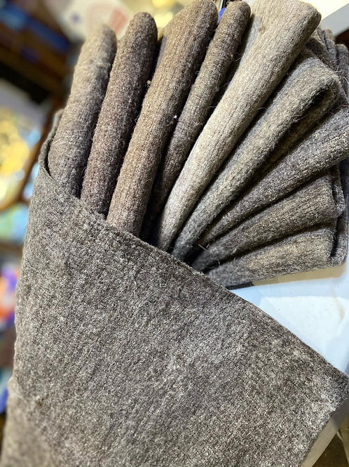 Wool Pre-Felt/ Fabric Felt- Grey