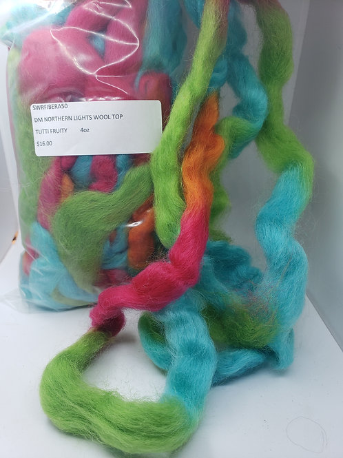 Northern Lights Wool Top - Tutti Fruity