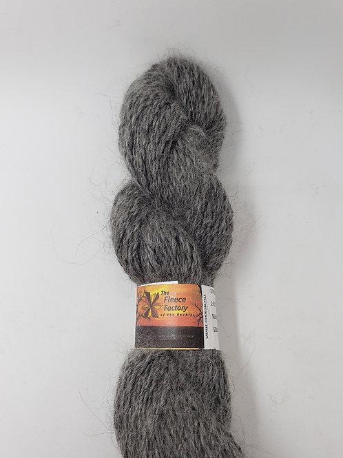 Alpaca 2-Ply Sport Yarn - Silver Gray