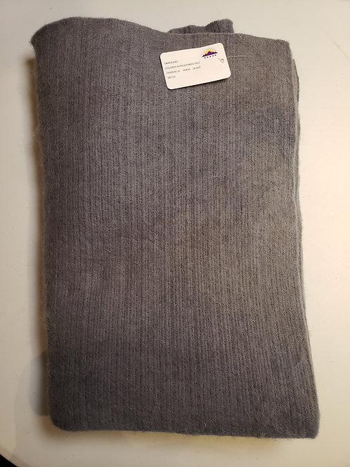 """Alpaca Fabric Felt - Fawn Blue- 46""""X34"""""""