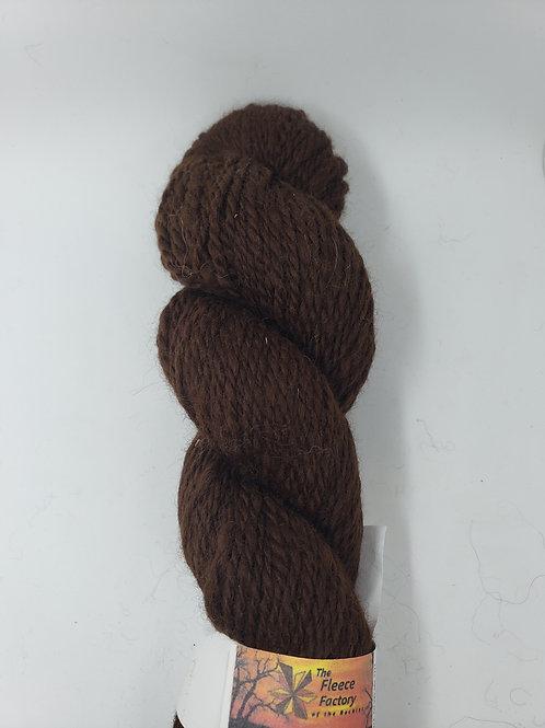 Alpaca 2-Ply Sport Yarn -Dark Brown