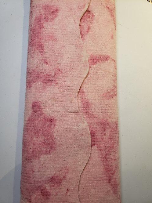 Dyed Alpaca Felt Sheet - Salida Alpine Pink
