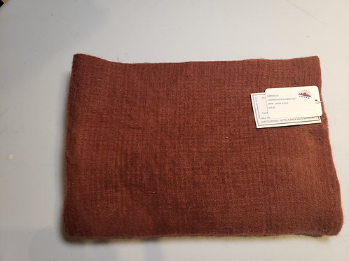 "Alpaca Fabric Felt - Wine - 28""X18"""