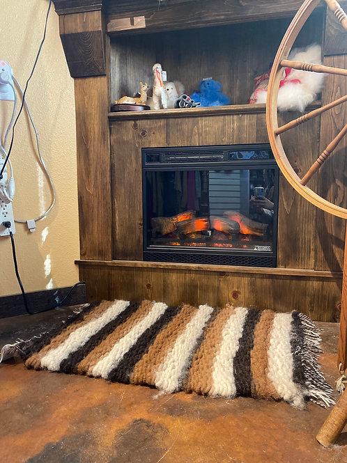 Hand-Woven Alpaca Rug
