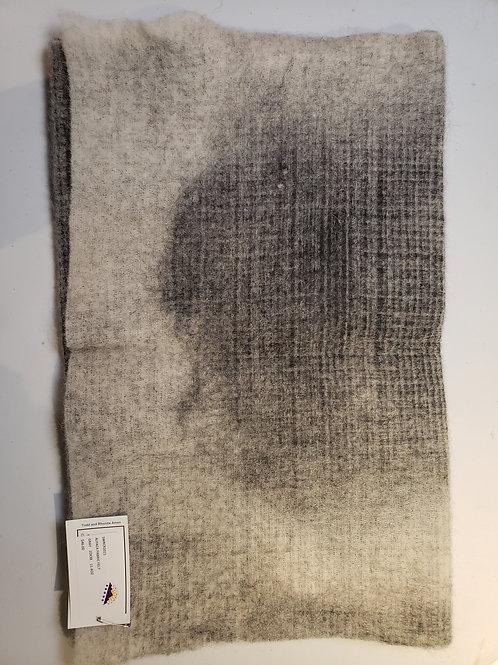 "Alpaca Fabric Felt - Gray - 38""X20"""
