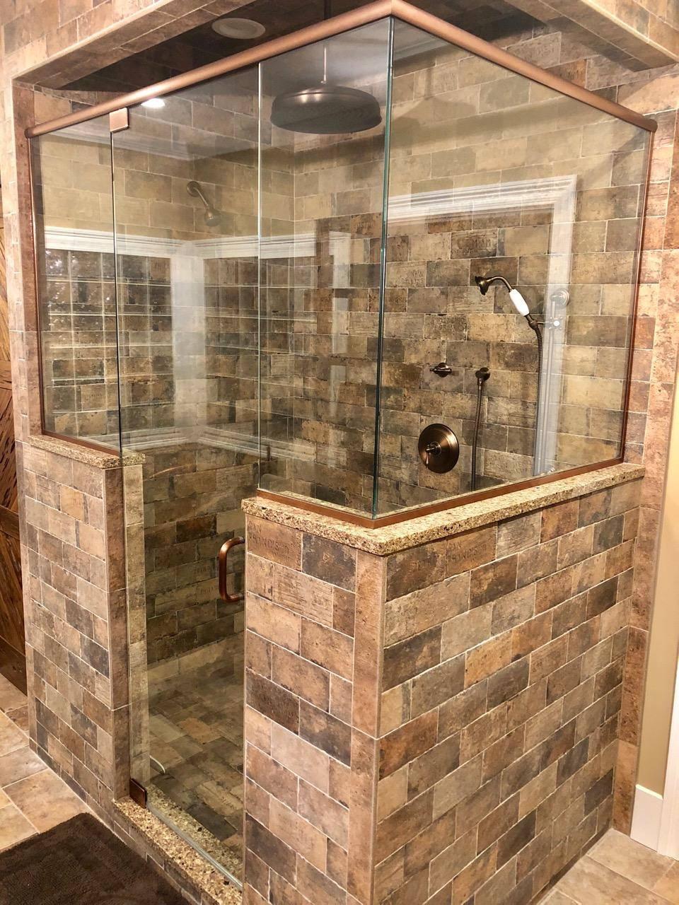Pivot shower door