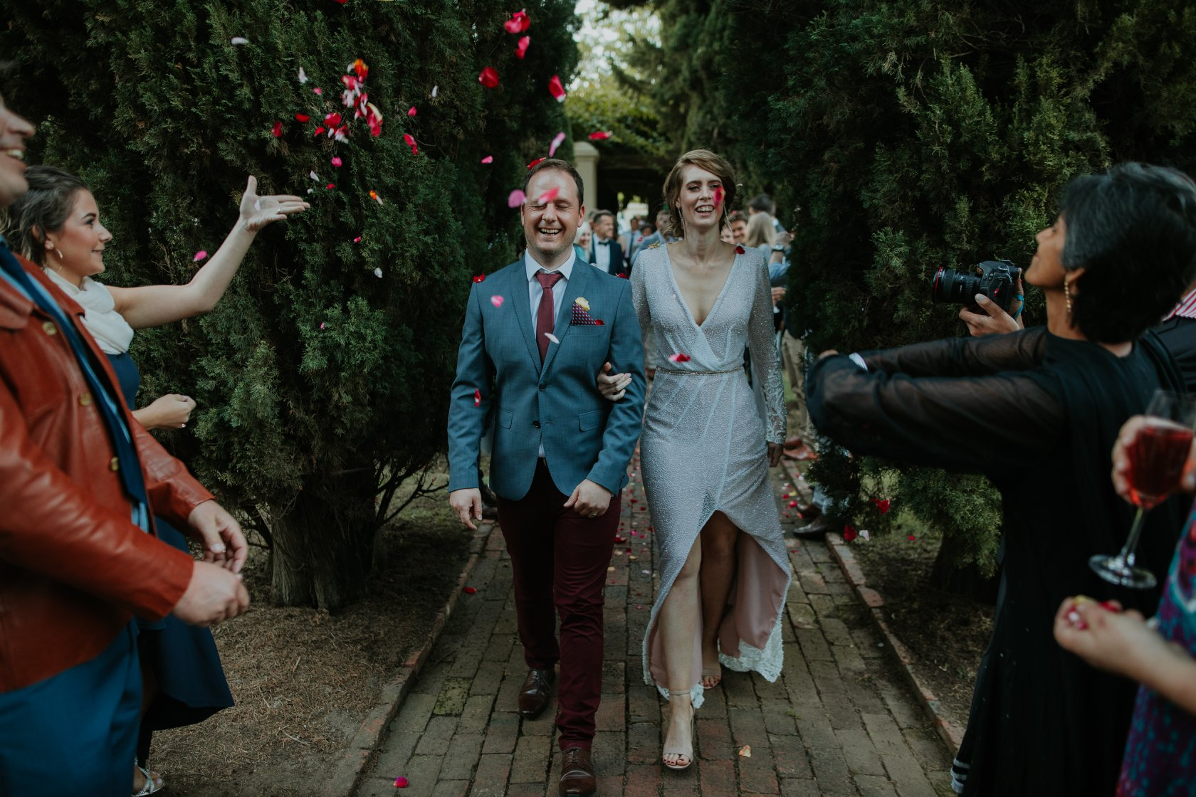 Venue ~Vergelegen Wines Reception ~ Stables at Vergelegen Wine Estate Dress ~ Rene H Couture Flowers ~ Paradiso Flowers SW MUA ~ Sophie Jean - Make-up artist & Hairstylist