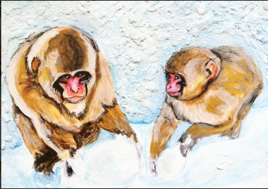 Fantastic Fauna: Japanese Macaques