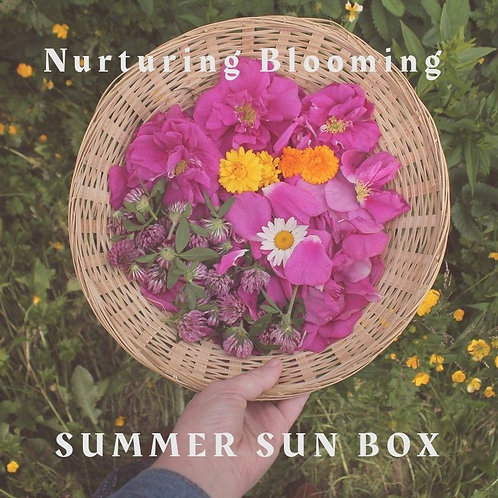 Pre-Order for Summer Sun Box - Seasonal Self-Care  & Sun Notes