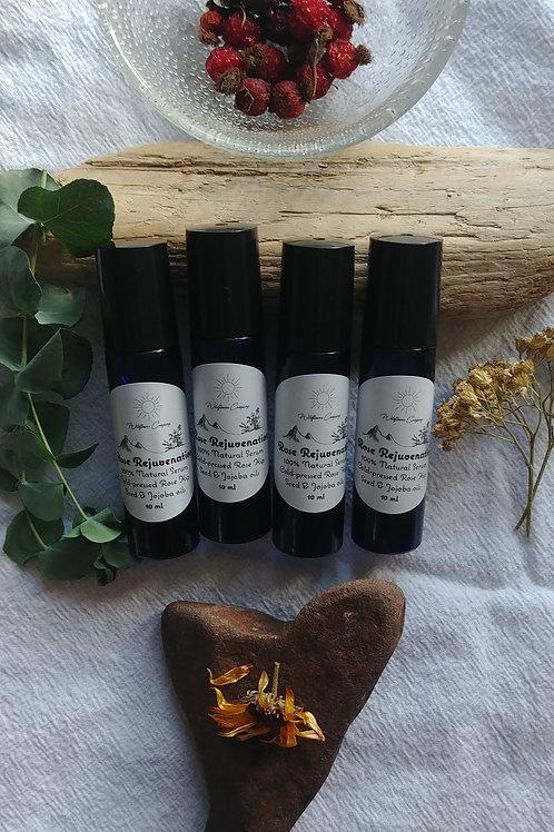 Rose Rejuvenation Facial Serum - Rose Hip Seed & Jojoba Oils