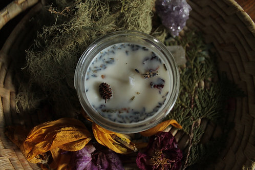 Imbolc Celebration - Hand-poured Soy Wax Candle - 125 ML