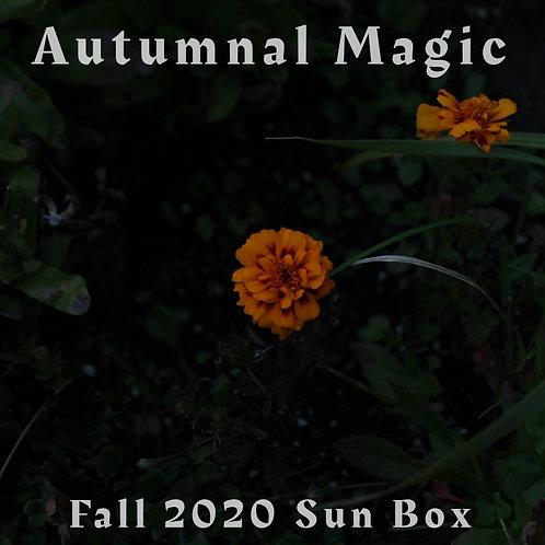 Fall Sun Box - Seasonal Self-Care  & Sun Notes