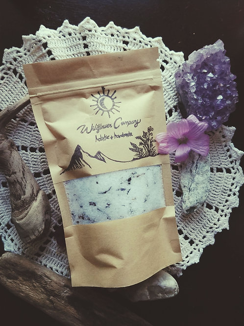 Garden Of Love - Ritual Bath Soak - Hibiscus, Wild Rose & Lavender