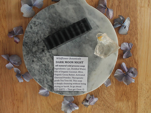 Dark Moon Night - Charcoal + Tea Tree Soap