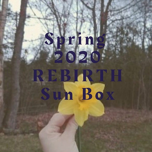 Seasonal Sun Box for SPRING: Rebirth (TEMPORARILY SOLD OUT)