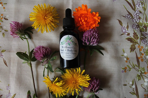 Wildflower Bath & Body Oil - Calendula & Sweet Almond