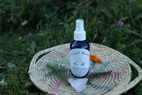 Facial Honey - Witch Hazel Rose Facial Spray - 2 oz Glass Bottle
