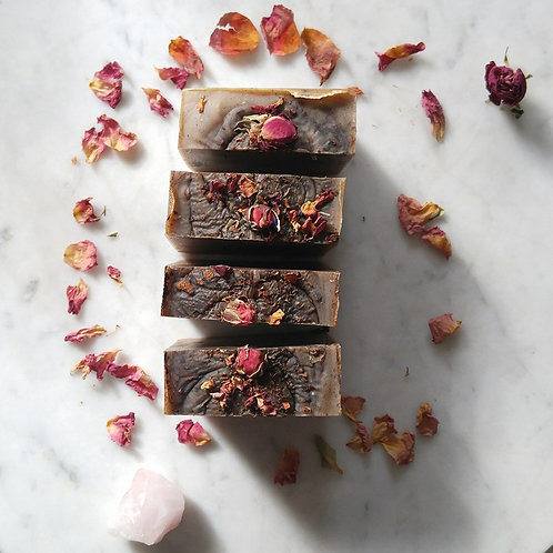 The Love Magic Bar - Hibiscus Rose + Cinnamon with hints of Patchouli