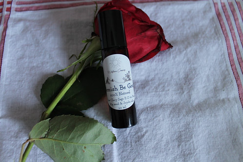 Blemish Be Gone - Pure Rose Hip Seed Oil with Clary Sage Essential Oil - 10 ML