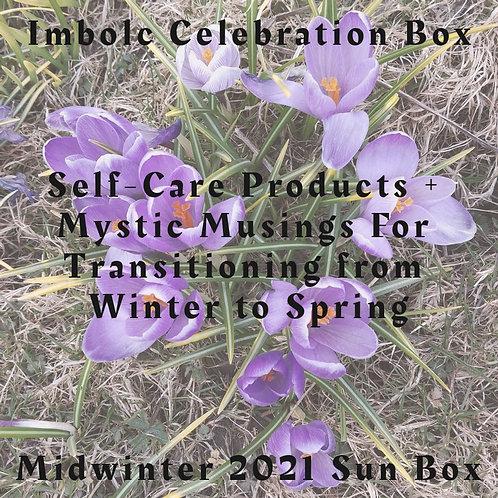 Midwinter Sun Box - Seasonal Self-Care Box for Winter into Spring