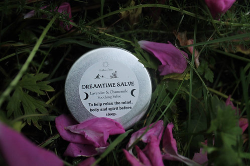 Dreamtime Salve - Chamomile + Lavender infused Beeswax Salve - 30ML