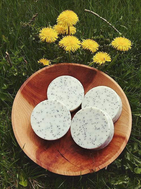 Lemon Poppy Seed & Shea Butter Soap Bar