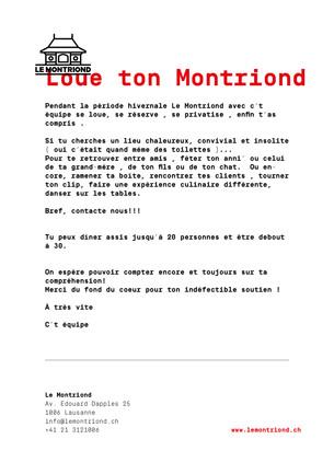 Loue Ton Montriond !