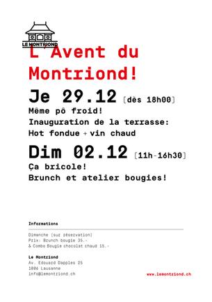 C'est parti pour un mois de folies!!! On t'attend jeudi pour un apéro Hot fondue & vin chaud ! D