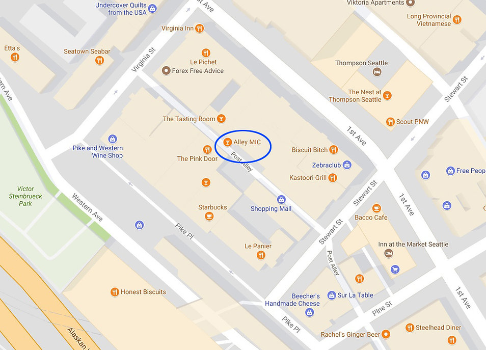 Location of Alley Mic