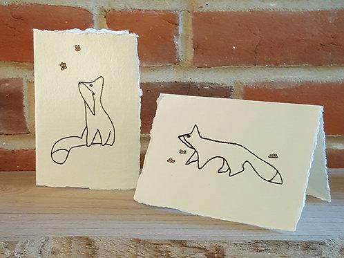 Wandering Fox Card