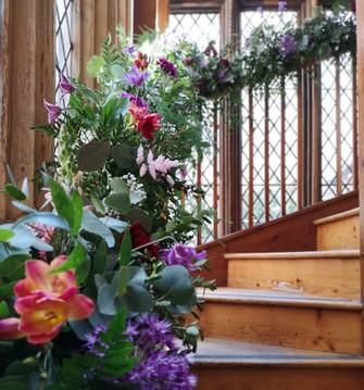 Stairwell Garland