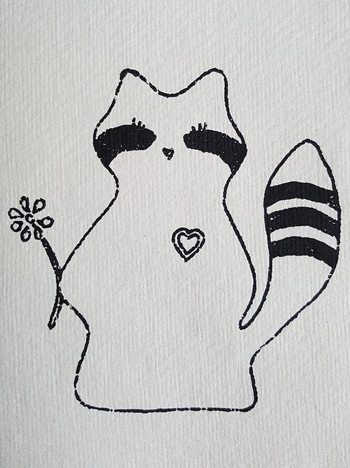 Maccoons Card - Daisy