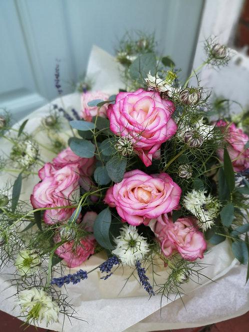 Carousel Illusion Rose Bouquet