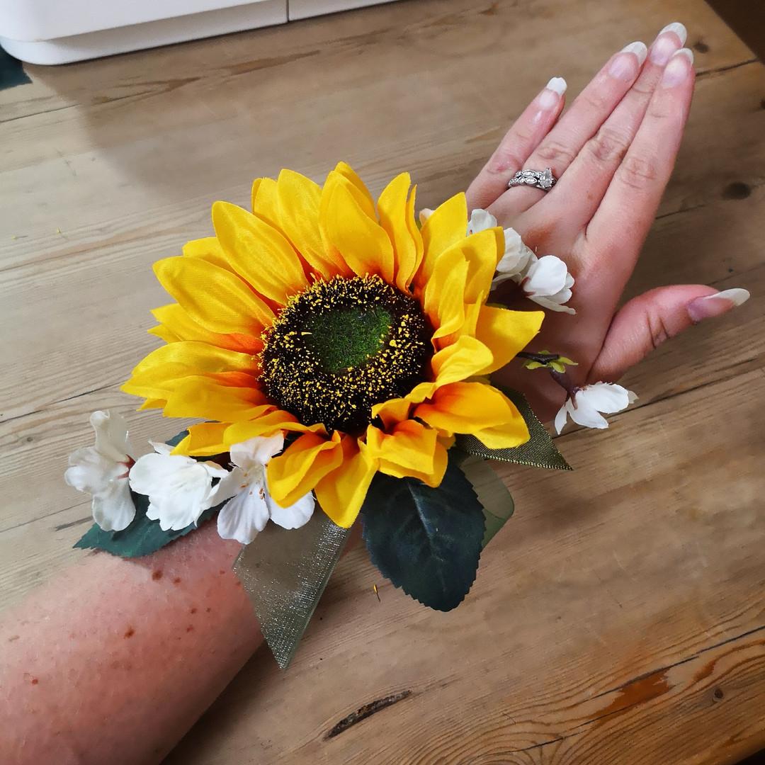 Handmade Wrist Corsage