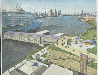 New Cruise terminal for Greenwich