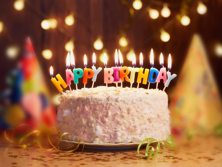 Ok, I have a little confession to make…, I completely forgot our first birthday!