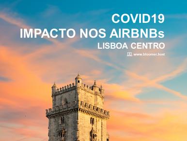 COVID19 - Impacto nos Airbnbs Lisboa Centro (Março 2020)
